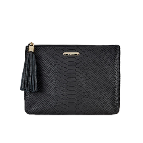 Womens GiGi New York All In One Clutch in Black - Brother's on the Boulevard