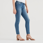 7 For All Mankind High Waist Ankle Skinny in Muse