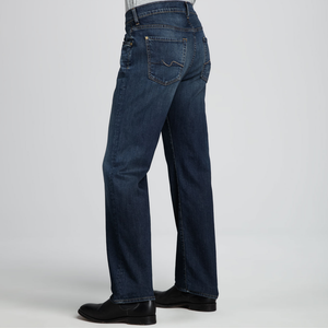 Mens 7 For All Mankind Luxe Performance Austyn Relaxed Straight Jean in Half Moon Blue - Brother's on the Boulevard