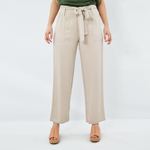 NYLA Front Tie Closure Pant in Khaki