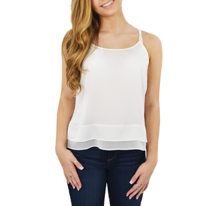 Womens Catherine Kate Zanzi Cami in Ivory - Brother's on the Boulevard