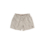 Southern Marsh Toxaway Chambray Dockside Swim Trunk in Burnt Taupe