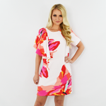 Crosby by Mollie Burch Jeni Dress in Bougainvillea