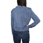 Womens Fifteen Twenty Tie Front Shirt in Denim - Brother's on the Boulevard