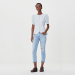 Citizens of Humanity Emerson Crop Slim Fit Boyfriend in Skylark