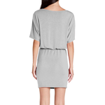 Womens Michael Stars Erynn Dress in Heather Grey - Brother's on the Boulevard