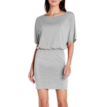 Michael Stars Erynn Dress in Heather Grey