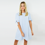 Crosby by Mollie Burch Faith Reversible Dress in Cruz Blue