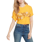 Free People Garden Time Tee in Yellow
