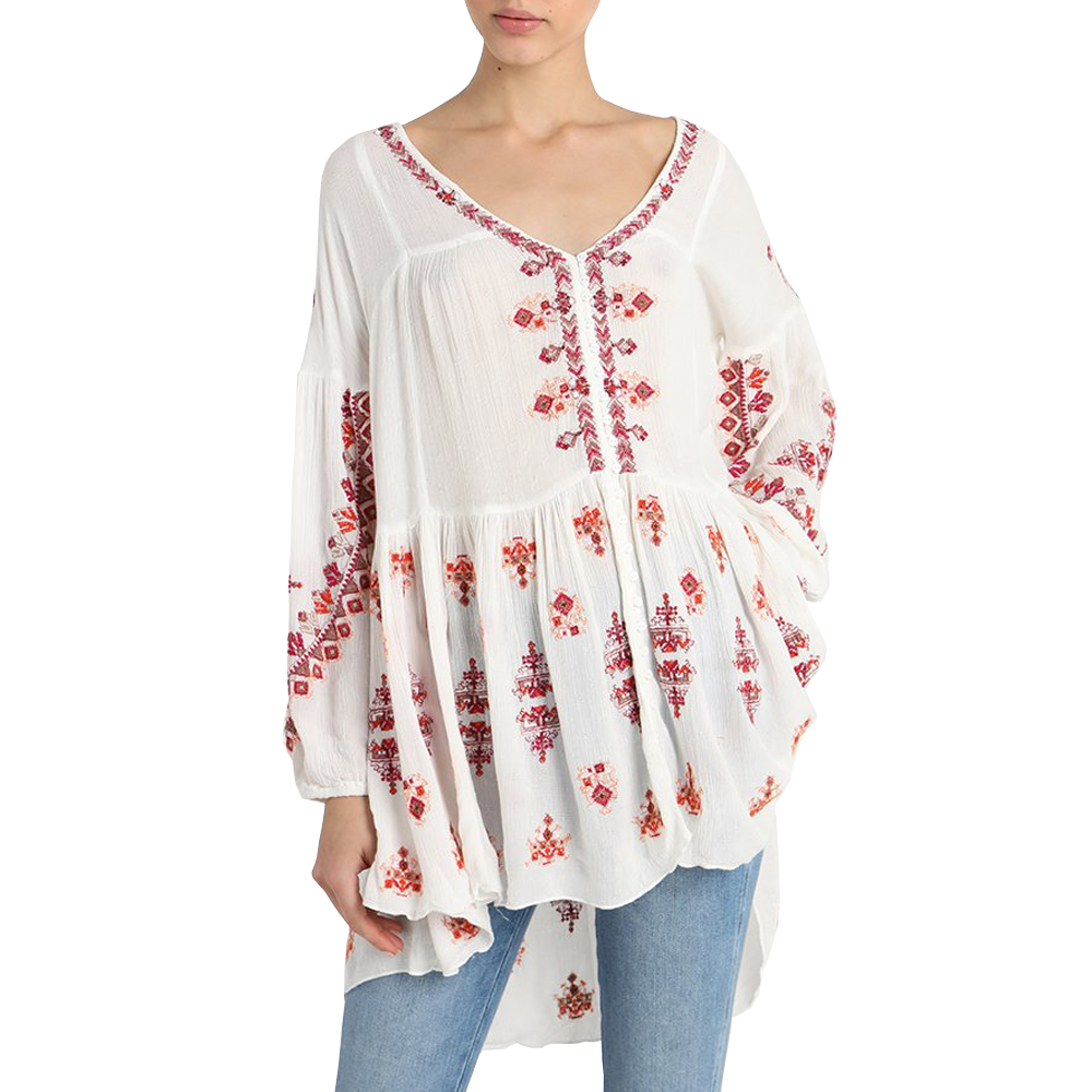 Womens Free People Arianna Tunic in Ivory - Brother's on the Boulevard