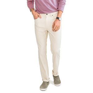 Mens Southern Tide Intercoastal Performance Pant in Stone - Brother's on the Boulevard