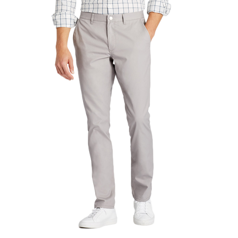 Mens Bonobos Stretch Washed Chinos Slim in Grey Dogs - Brother's on the Boulevard
