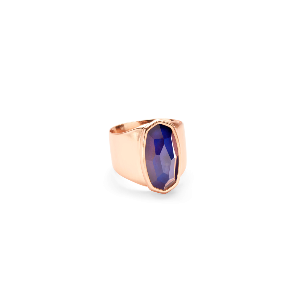 Kendra Scott Leah Mood Ring In Rose Gold
