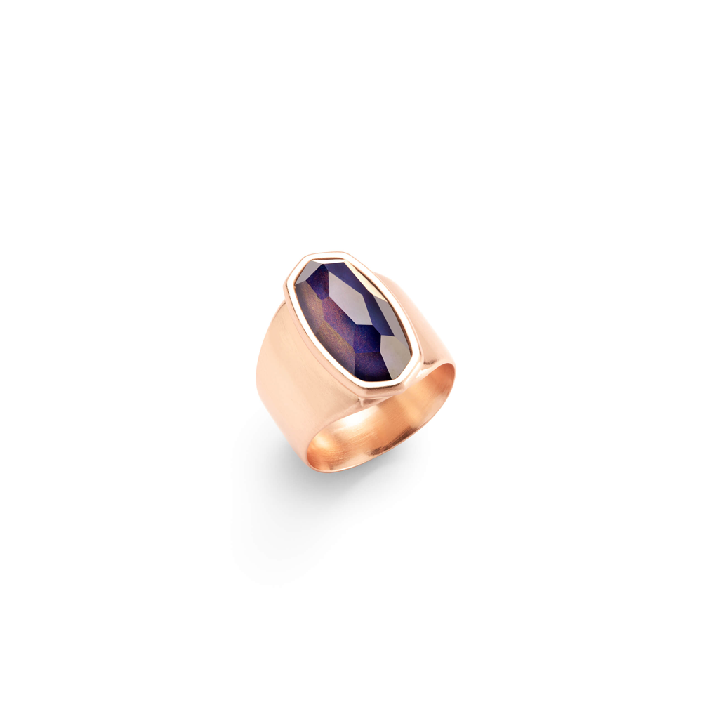 Womens Kendra Scott Leah Mood Ring In Rose Gold - Brother's on the Boulevard