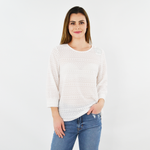 Womens Shilla Status Line Lace Blouse in White - Brother's on the Boulevard