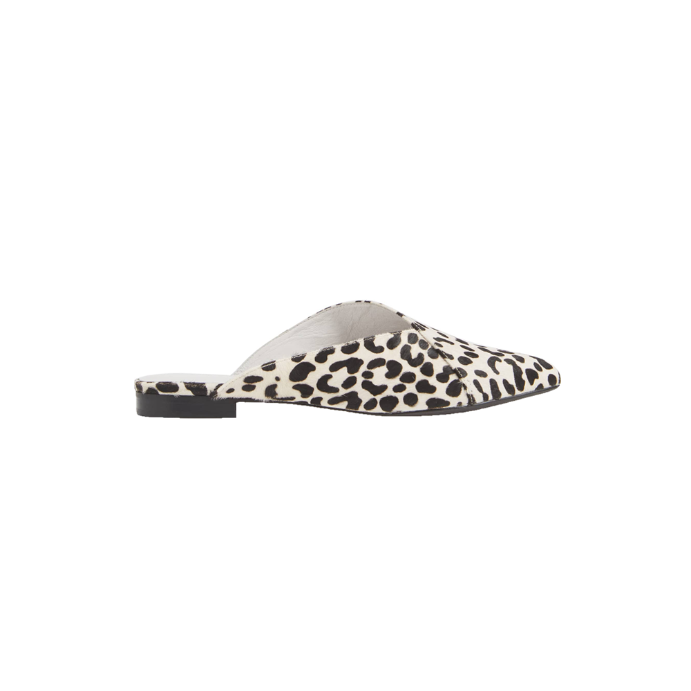 Womens Matisse Lana Hair Mule in Black and White - Brother's on the Boulevard