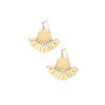 Womens Kendra Scott Liz Statment Earrings in Gold - Brother's on the Boulevard