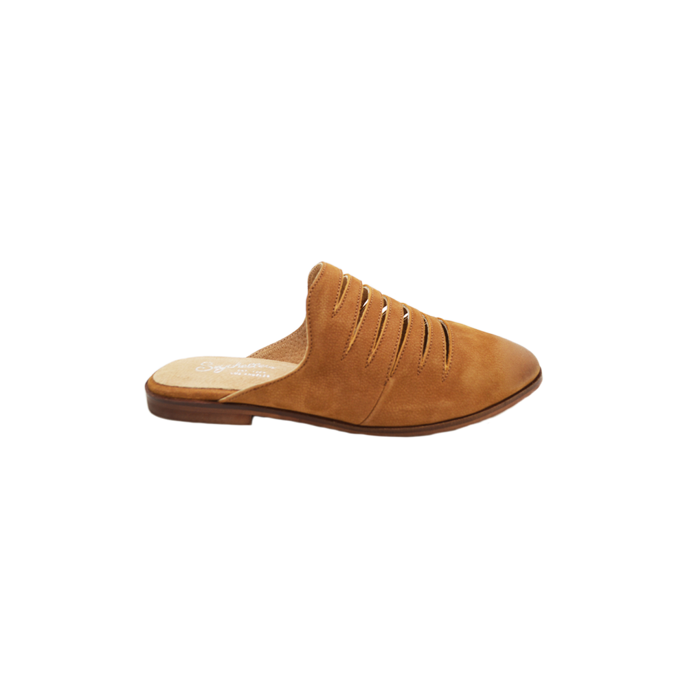 Womens Seychelles Unbinded Slashed Mule in Camel - Brother's on the Boulevard
