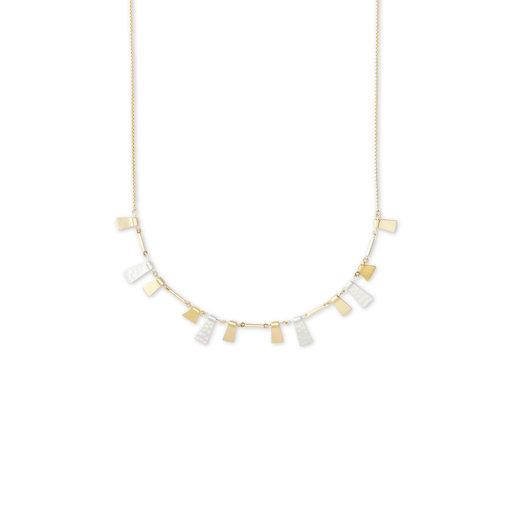 Kendra Scott Lynne Adjustable Necklace In Mixed Metal