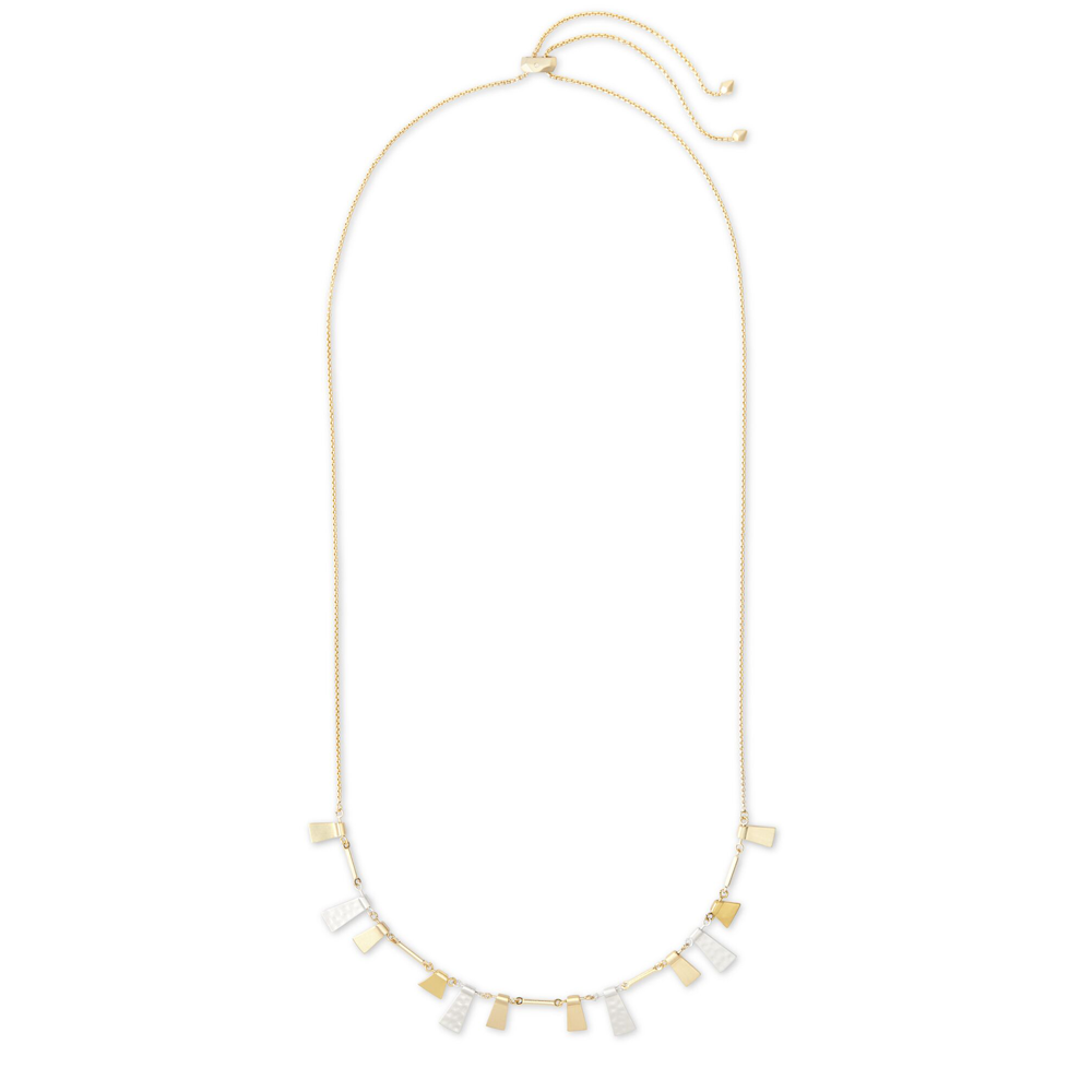 Womens Kendra Scott Lynne Adjustable Necklace In Mixed Metal - Brother's on the Boulevard