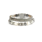 Womens Good Works Matthew 19:26 Magnetic Clamp Bracelet - Brother's on the Boulevard
