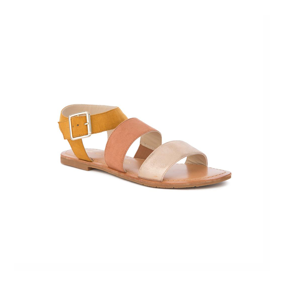 Womens BC Footwear by Seychelles Picturesque Gladiator Sandal in Mustard - Brother's on the Boulevard