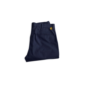 Mens Duck Head Gold School Chino Pant in Navy - Brother's on the Boulevard