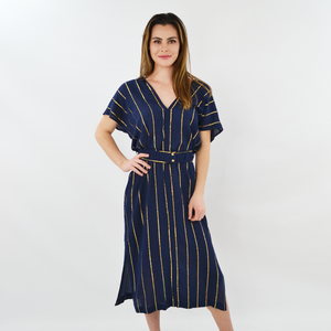 Womens Corey Lynn Calter Julie Dress in Deep Sea Navy - Brother's on the Boulevard