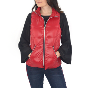 aab154536c507 Womens My Anorak Hot Puffer Vest in Chilli - Brother's on the Boulevard