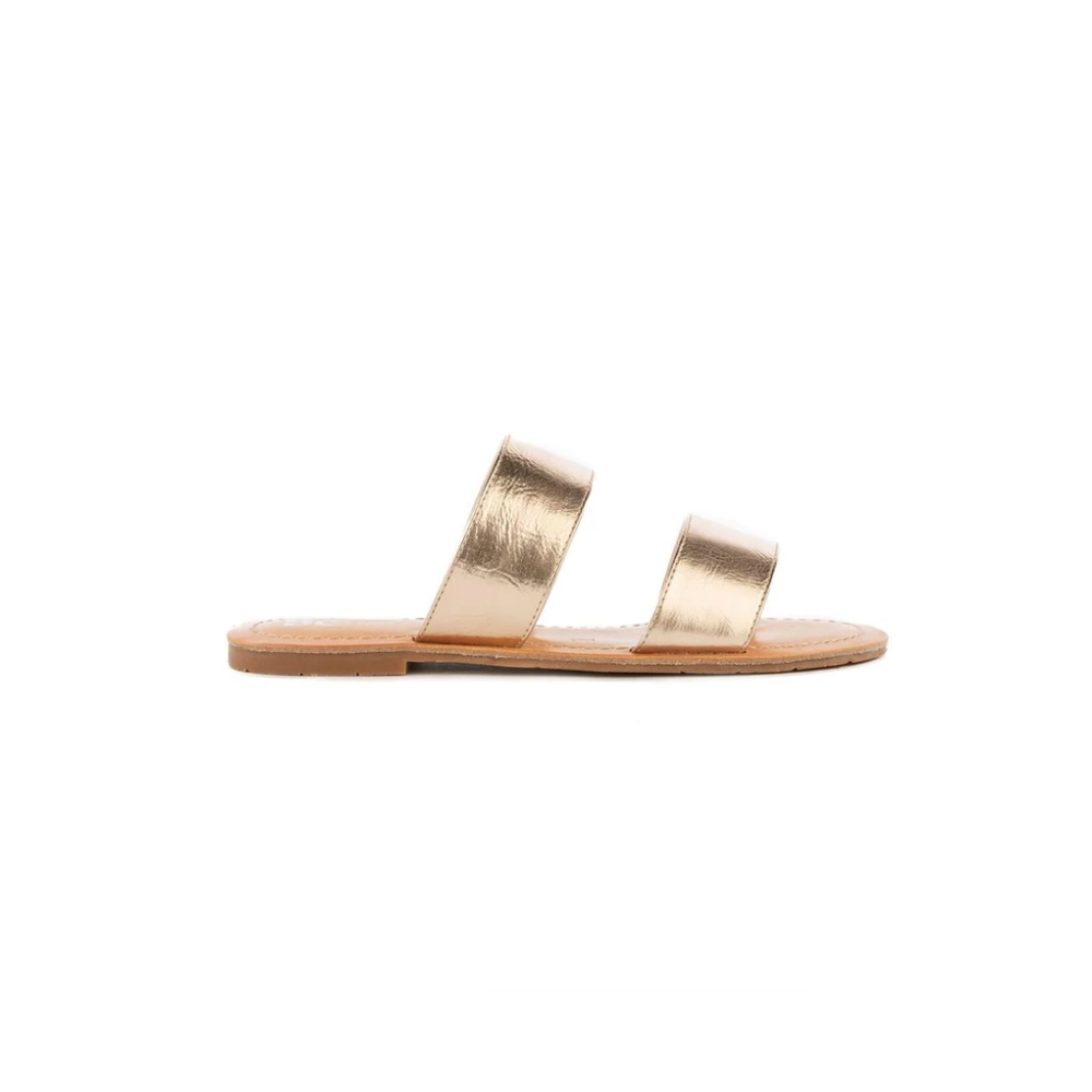 Womens BC Footwear by Seychelles Perfectly Crafted Sandal in Rose Gold - Brother's on the Boulevard