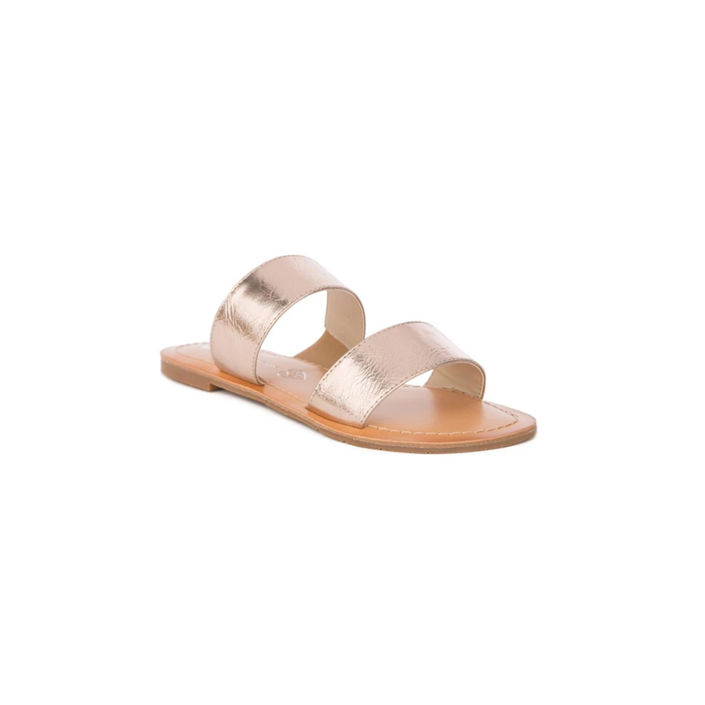 BC Footwear by Seychelles Perfectly Crafted Sandal in Rose Gold