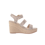 Womens BC Footwear by Seychelles Snack Bar Multi Strap Wedge in Natural Exotic - Brother's on the Boulevard