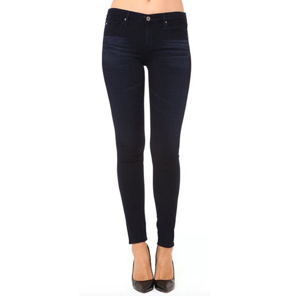 Womens AG Jeans Legging Low Rise Ankle Skinny in Rivers Cut - Brother's on the Boulevard