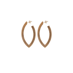 Sheila Fajl Small Alba Hoop Earring in Rose Gold