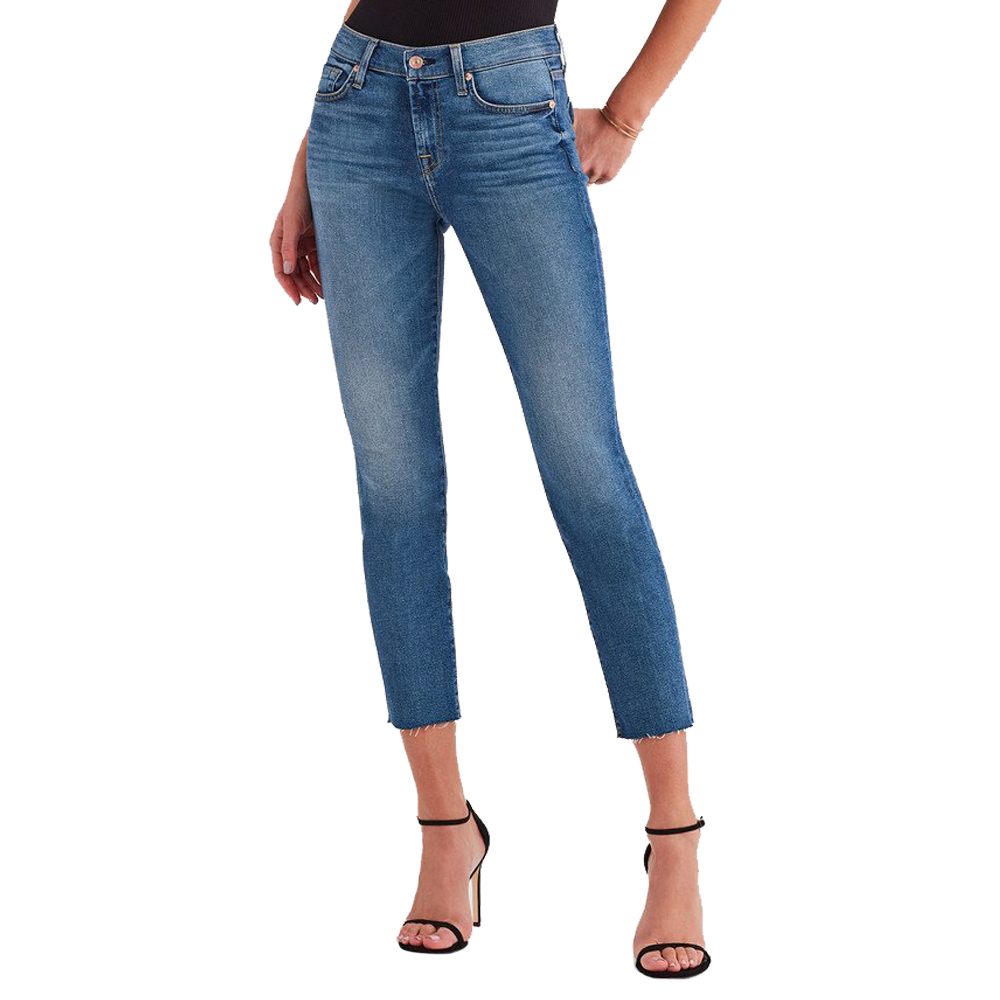 7 For All Mankind Roxanne Ankle in Femme