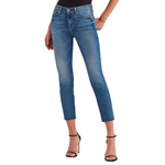 7 For All Mankind Roxanne Mid Rise Ankle Skinny in Femme