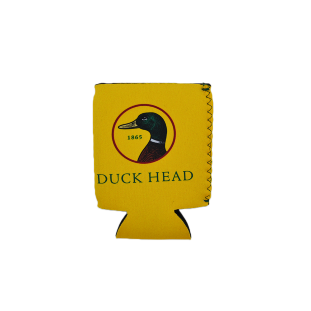 Duck Head Coozie in Yellow