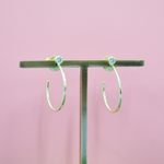 Sheila Fajl Small Sima Hoop Earring in Gold