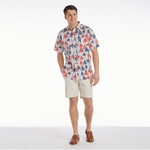 Mens Southern Proper Social Shirt in Palmetto Firework Pattern - Brother's on the Boulevard