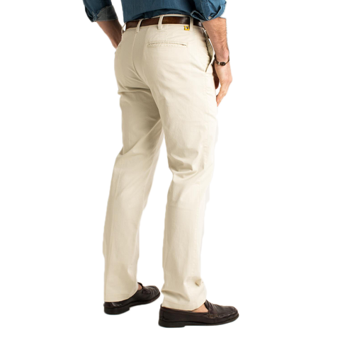Mens Duck Head Gold School Chino Pant in Stone - Brother's on the Boulevard