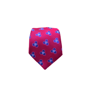 Mens Ted Baker Flower Necktie in Fuchsia - Brother's on the Boulevard