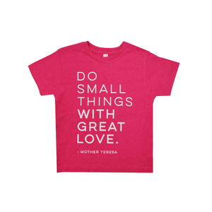 "Tween Girls Ruby's Rubbish Girls ""Mother Teresa"" Tee in Heather Berry - Brother's on the Boulevard"