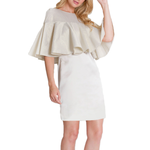 Womens Camilyn Beth Veronica Dress in Champagne - Brother's on the Boulevard