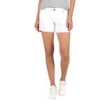 Kut from the Kloth Andrea Denim Shorts in Optic White