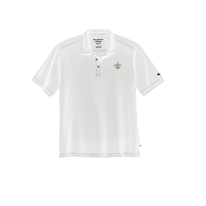 Mens Tommy Bahama The Emfielder Core Saints Polo in White - Brother's on the Boulevard