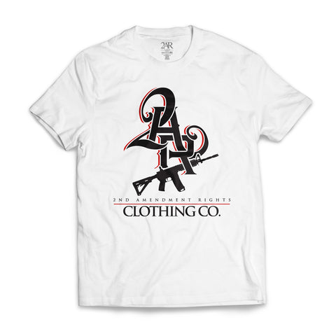 """2AR Clothing CO."" WHITE T-Shirt"