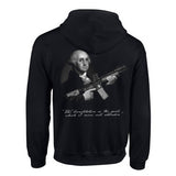 Back Dont Tread on George Full zip Sweater