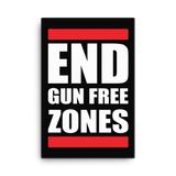 End Gun Free Zones Canvas