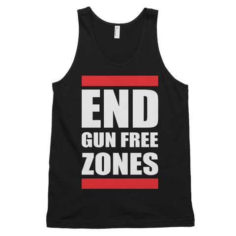 End Gun Free Zones Tank Top