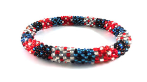 Roll-On Roll-Off Glass Seed Bead Bracelets